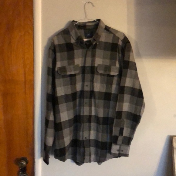 george Other - George Men's and Big & Tall Long Sleeve Flannel